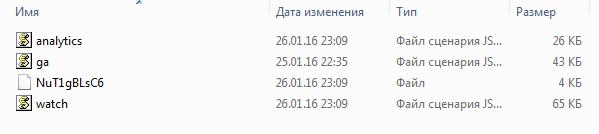 Нужные файлы